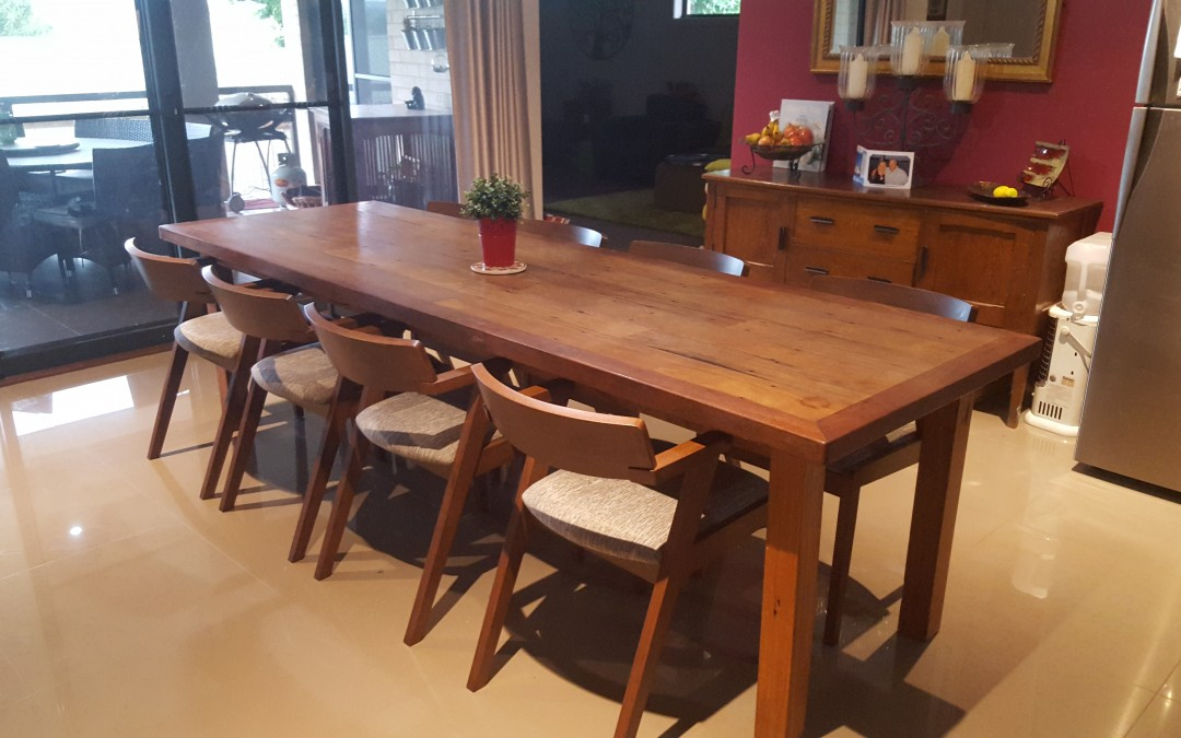 Modern Danish Dining Table in Phil Camden's Beautiful Home