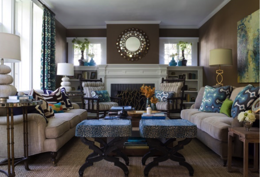 6 Transitional Contemporary Living Rooms that Inspire