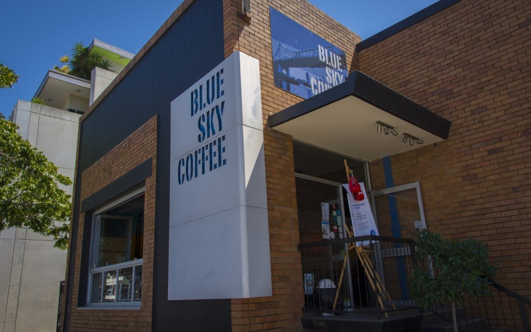Blue Sky Coffee in Newstead