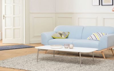 Complete your Space with a Scandinavian Sofa-Loveseat Combo