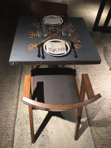 table for two please with zola chairs