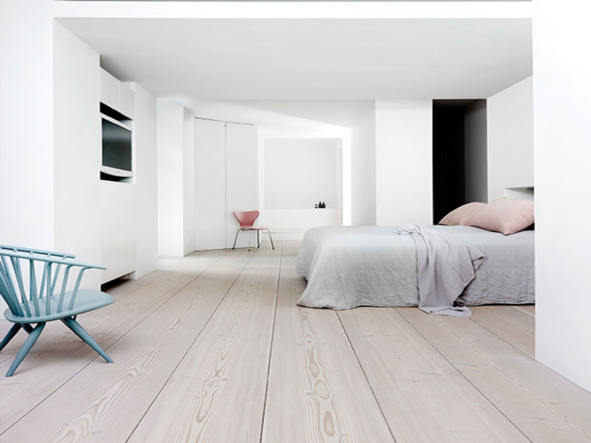 Dinesen Home Clean Wood Bedroom