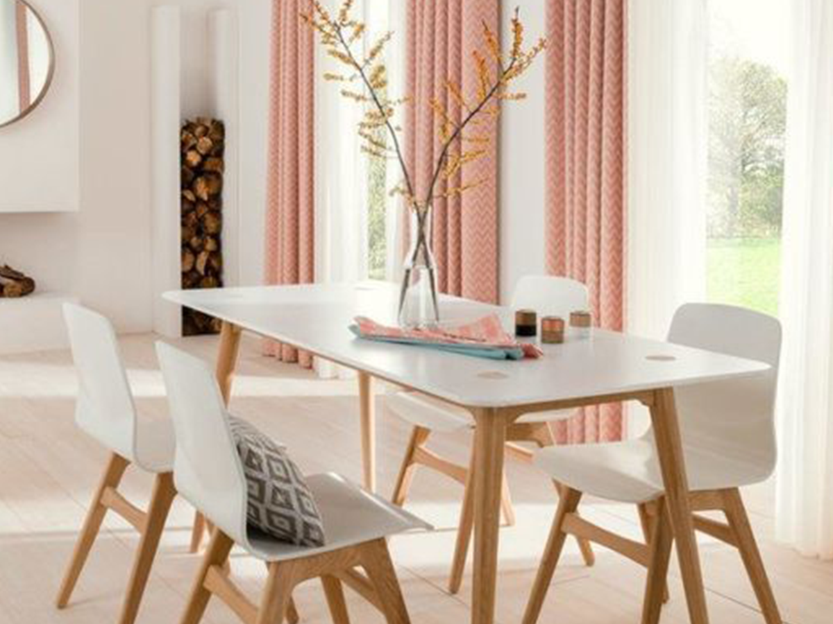 Scandi Dining Room Table and Chairs