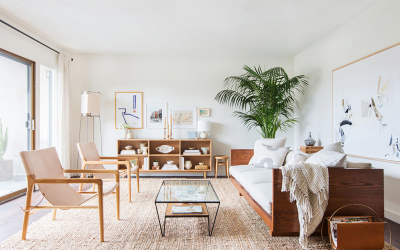5 Living Rooms that Perfectly Balance Asian and Scandi Design