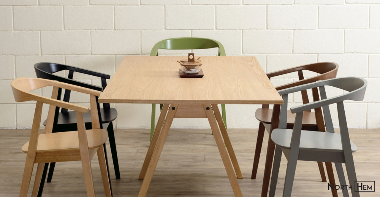 scandi dining chairs
